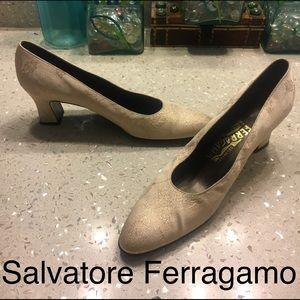 Salvatore Ferragamo pump heels